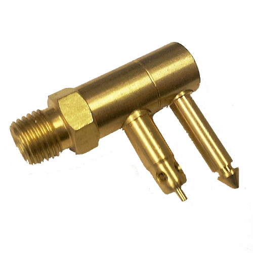 "Waveline Mercury / Mariner Male Brass Male Quick Connect - 1/4"" NPT Thread"
